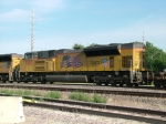 UP 8387 - #3 Power on EB Stacks Thru Missouri Valley IA